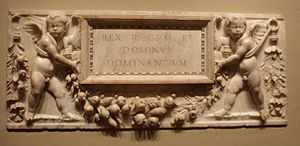Benedetto Grazzini - Relief from an altar, carved between 1517 and 1520, in the National Gallery of Art