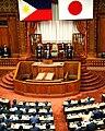 Benigno Aquino III addresses National Diet in Tokyo 6.3.15.jpg