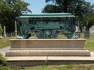 Benjamin H. Warder - Benjamin Head Warder tomb