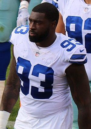 Benson Mayowa - Mayowa with the Dallas Cowboys in 2017.