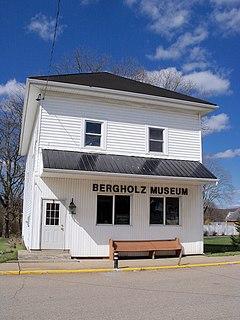 Bergholz, Ohio Village in Ohio, United States