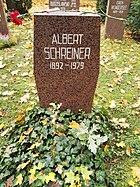 Berlin Friedrichsfelde Zentralfriedhof, Pergolenweg - Schreiner, Albert
