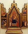 Bernardo daddi (scuola), trittico, 1340-50 ca. 01.JPG