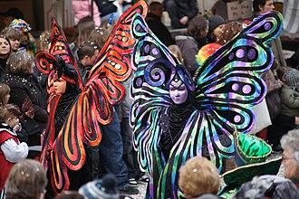 Carnival in Bern - Image: Berner Fasnacht 2010 011