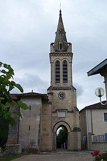 Bernos-Beaulac Église 02.jpg