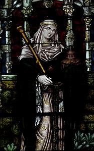 Bertha of Kent, Canterbury cathedral-stained glass 26.jpg