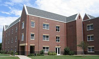 Bethel College (Kansas) - Voth Hall, student housing, 2007