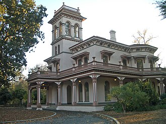 Henry W. Cleaveland - Bidwell Mansion in Chico, California
