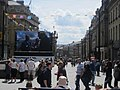 Big screen at the top of Grey Street (geograph 3072223).jpg