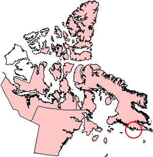 Big Island (Hudson Strait, Nunavut) - Big Island, Nunavut.