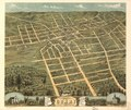 Bird's eye view of the city of Corry, Erie County, Pennsylvania 1870. LOC 73694522.tif