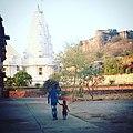 Birla temple and sanskrit department.jpg