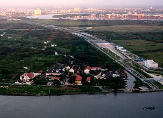 Long Thanh International Airport - Bitexco skyview on north-east highway to proposed airport