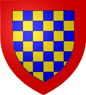 Counts of Dreux - Coat of arms of the Counts of Dreux.
