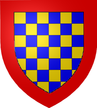 Robert II, Count of Dreux - Arms of the Counts of Dreux