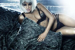 Bleona - Bleona posing in a music video, 16 June 2012