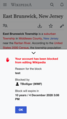 Block notice — Test Wikipedia, mobile web January 2019.png