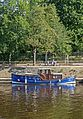 Blue Boat in the River Ouse, York (14797000408).jpg