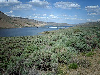 Blue Mesa Reservoir lake