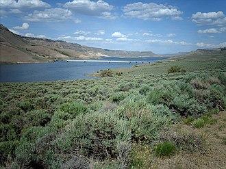 Blue Mesa Reservoir - Image: Bluemesa