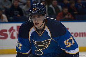 David Perron - Image: Blues vs. Bruins 9292 (6832068326)