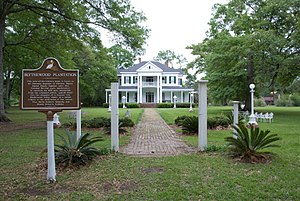 Blythewood Plantation House Amite Louisina entrance.jpg