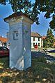 Boží muka - křížení ulic Čechovická, Ovesná a Esperantská, Čechovice, Prostějov.jpg