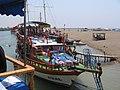Boat on Manavgat - panoramio.jpg