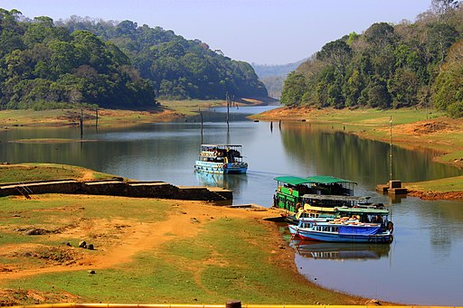 Thekkady Boating in Periyar lake