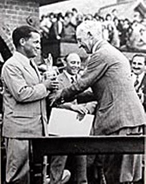 Bobby Jones (golfer) - British Open win 1930