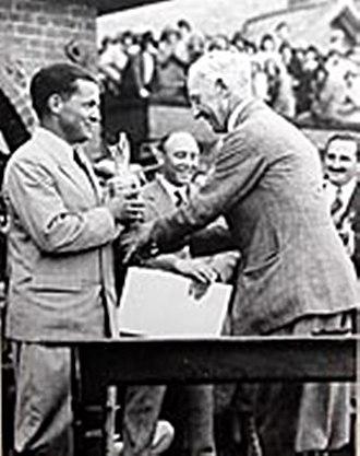 Bobby Jones (golfer) - British Open win 1930