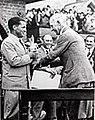 Bobby Jones wins British Open in 1930.jpg