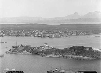 Bodø - Bodø harbor 1880