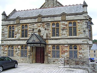 Bodmin town and civil parish in Cornwall, England