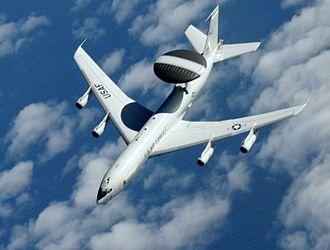 Tinker Air Force Base - Image: Boeing E 3 Sentry 090512 F 7550B 902