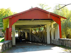 Bogert Covered Bridge - Bogert Covered Bridge, October 2012