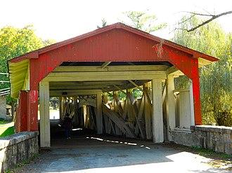 Bogert Covered Bridge - Bogert Covered Bridge, October 2012