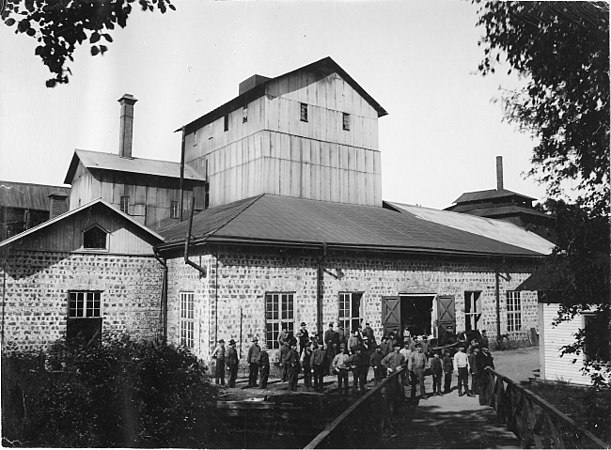 Bollstabruk jrnvgsstation. - Jrnvgsmuseet / DigitaltMuseum