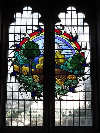 Cox & Barnard - A window at St Mary Magdalene's Church, Bolney