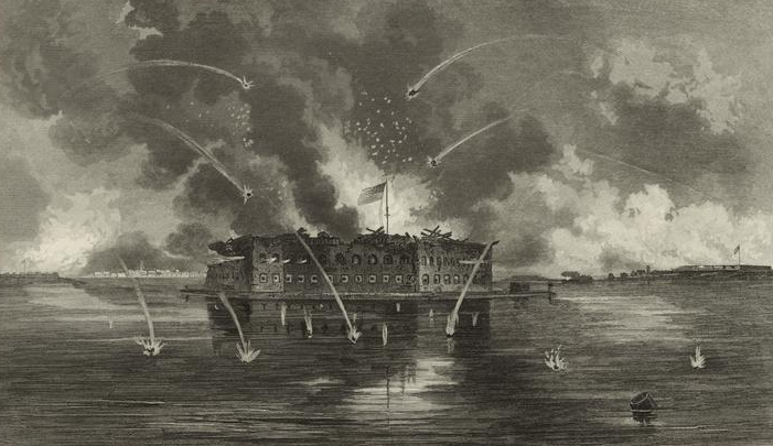 Bombardment of Fort Sumter, 1861
