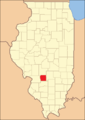 Bond County Illinois 1843.png