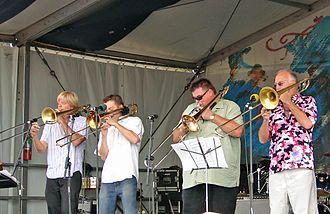 Bonerama - Bonerama at the New Orleans Jazz Fest, 2006.