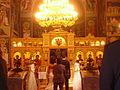 Bonn Griechisch-Orthodoxe Kathedrale Agia Trias Innen Ikonen 1.JPG