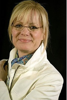 Bonnie Hunt tijdens het Tribeca Film Festival in 2006.