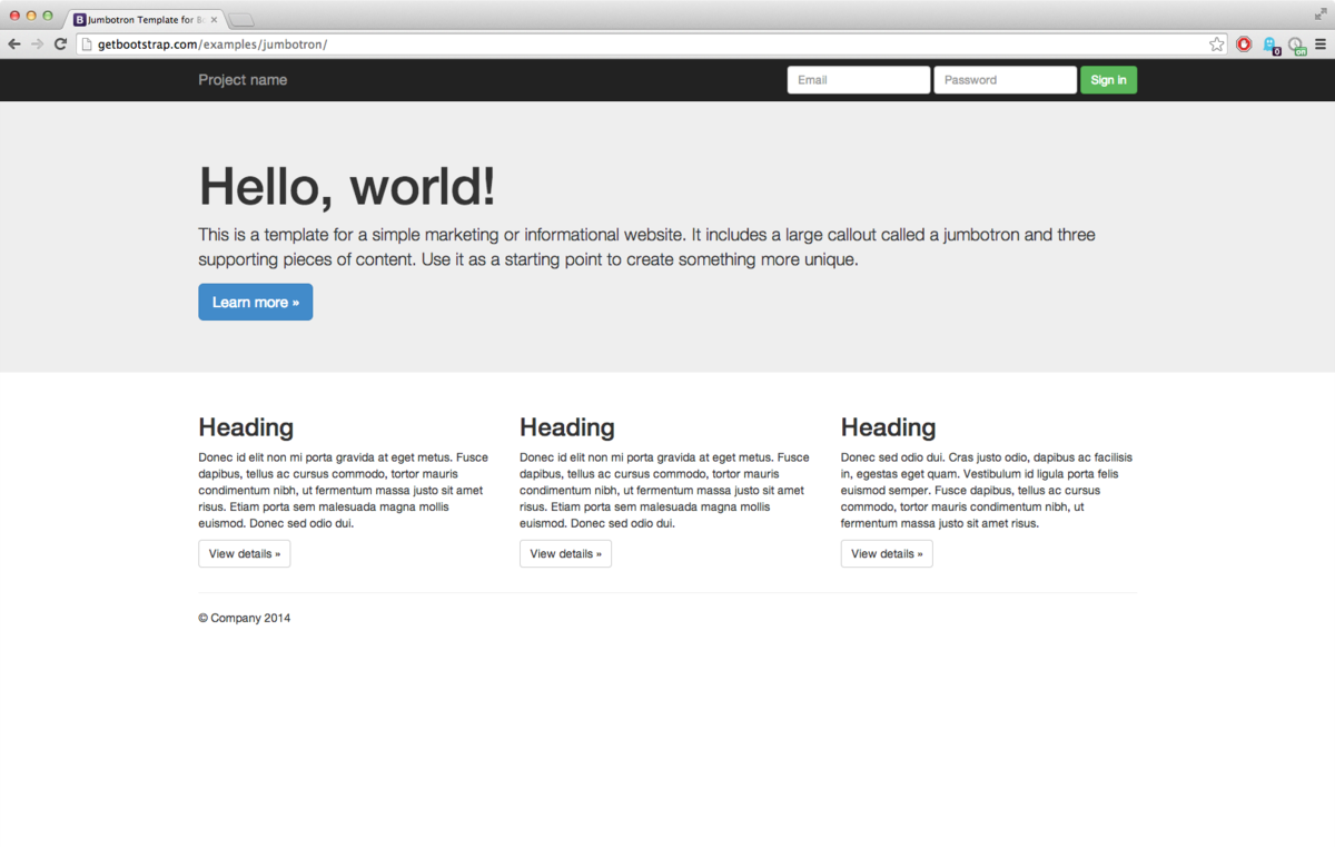 Bootstrap (Framework) – Wikipedia