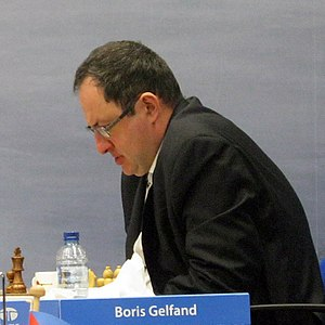 Boris Gelfand - During the Tata Steel Chess, 2012