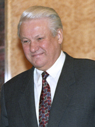 1991 Russian presidential election - Boris Yeltsin