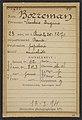 Borreman. Léontine, Eugénie. 23 ans, née à Paris le 25-12-70. Papetière. Anarchiste. 13-3-94. MET DP290213.jpg