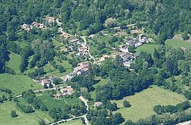An overhead view of Bouan