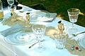 Boulespieler-Figuren auf einem selbstdekoriertem Tisch während der Pfingsttafel Hannover 2012 II.jpg
